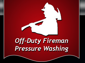 Off Duty Fireman Pressure Washing